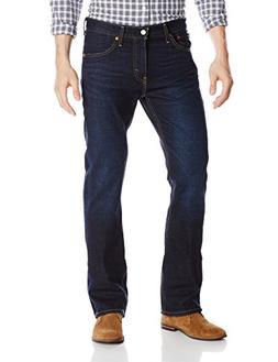Levi's Men's 527 Slim Boot Cut Fit Jean, Indigo Black, 40x32