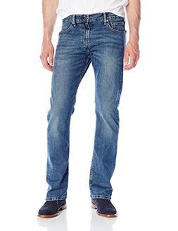 Levi's Men's 527 Slim Bootcut Jean, Black Stone, 34W x 32L