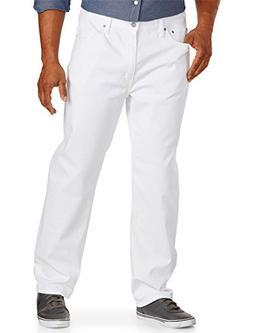 Levi's Men's 541 Athletic Fit Jeans White Bull 44x32