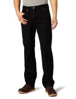 Levi's 550 Relaxed Fit Black Out Jeans