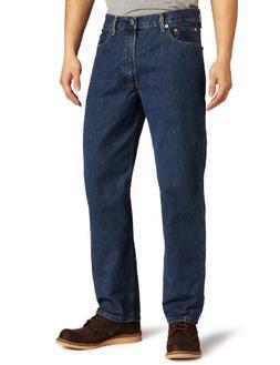 Levi's Men's 550 Relaxed Fit Jean - Big & Tall, Dark Stonewa