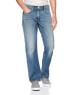 Levi's Men's 569 Loose Straight Fit-Jeans, Rubber Tree - Blu