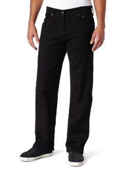 Levi's Men's 569 Loose Straight Leg Jean, Black - Stretch, 3