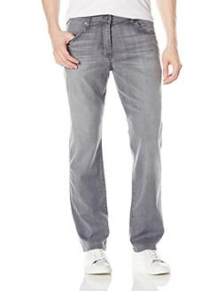 7 For All Mankind Men's Standard, Grey Shadow, 32