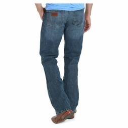 6f2793b7 77MWZRW Wrangler Men's Retro Slim Fit Jeans River Wash NEW