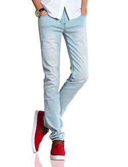 Demon hunter 808 Series Men's Skinny Slim Jeans DH8008