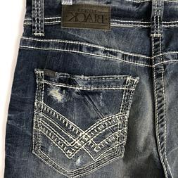 Buckle Black 9 Fit Men's Jeans Size 32x32 Straight Leg Dark