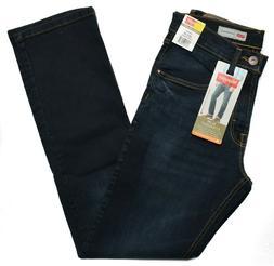 Wrangler #9112 NEW Men's Slim Straight Stretch Straight Leg