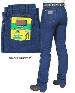 Wrangler 936 Men Slim Fit Cowboy Cut PreWash Indigo Blue Jea