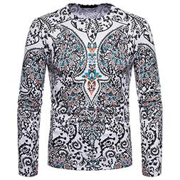 Alimao Men's Tops Autumn Winter African 3D Folk-Custom Print