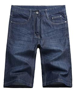 Allonly Men's Fashion Casual Relaxed Fit Stretch Denim Jean