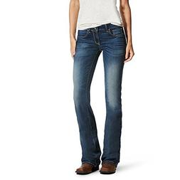 Ariat Womens Motion Ultra Stretch Boot Cut Jean 30 S Iron Ro