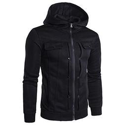 Binmer Clearance Men's Autumn Winter Fashion Men Slim Design