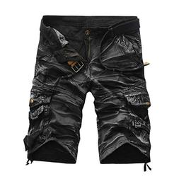 Binmer Mens Shorts Pants Casual Pocket Beach Sport Summer Tr