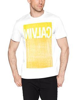 Calvin Klein Jeans Men's Short Sleeve Logo T-Shirt Pop Color