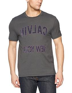 Calvin Klein Jeans Men's Short Sleeve T-Shirt CK New York Lo