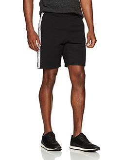 Calvin Klein Men's Calvin Logo Printed Knit Short, Jet Black