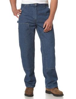 CARHARTT B73 DST 34 32 Logger Pants, Dark Stone, Size 34x32
