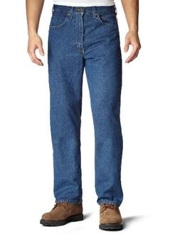 Carhartt Men's Relaxed Fit Jean Straight Leg,Dark Stone,35 x
