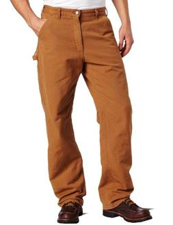 58e607a830 Carhartt Men's Washed Duck Work Dungaree Flannel Lined,Carha