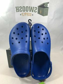 Crocs Womens unisex Closed Toe, Blue Jean, Size 15 US Men /