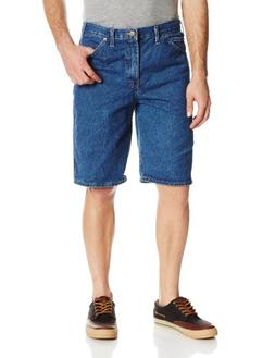 Dickies Men's 11 Inch 6-Pocket Regular Fit Denim Short, Ston