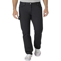 Dickies Men's Slim Taper Flex Carpenter Pant, Stonewashed Bl