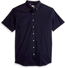 Dockers Men's Big and Tall Short Sleeve No Wrinkle Stretch B