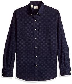 Dockers Men's Comfort Stretch Long Sleeve Button Front Shirt