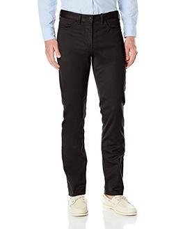 Dockers Men's Jean Cut Soft Stretch Slim-Fit Pant, Black , 3