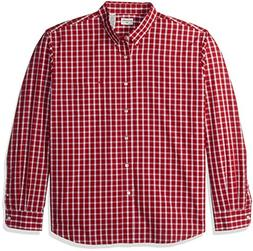 Dockers Men's No Wrinkle Long Sleeve Button Front Shirt, Rio
