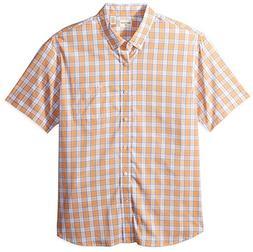 Dockers Men's Comfort Stretch No Wrinkle Short Sleeve Button