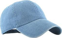 KB-LOW MDM Classic Cotton Dad Hat Adjustable Plain Cap. Polo