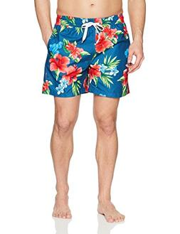 Kanu Surf Men's South Floral Quick Dry Beach Volley Swim Tru