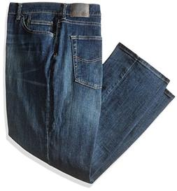 LEE Men's Big and Tall Modern Series Athletic Fit Jean,Roost