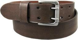 Levi's Men's 1 1/2 in.Bridle Double Prong Buckle Belt,Brown,