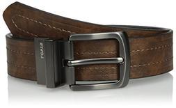 Levi's Men's Levi's 1 9/16 in. Reversible Belt ,Brown/black,