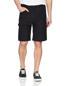 Levi's Men's Loose Carpenter Short, Mineral Black-Stretch Ca
