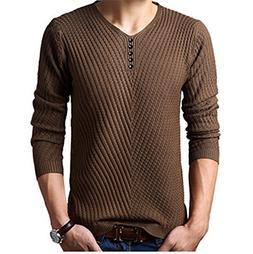 NeeKer Jacket New Autumn Winter Sweater Knitted V-Collar Swe