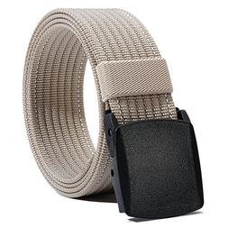 Nylon Belt Men, Military Tactical Belt with YKK Plastic Buck