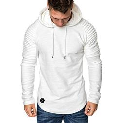 OWMEOT Men's Full Zip Ultimate Heavyweight Fleece Hoodie