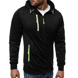 OWMEOT Men's Heavy Blend Fleece Hooded Sweatshirt