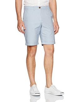"Original Penguin Men's 9"" Oxford Dobby Cuffed Short, Faded D"
