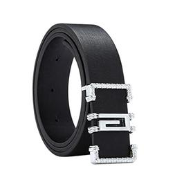 Start_wuvi Unisex Skinny Lmitation Leather Belt Solid Color