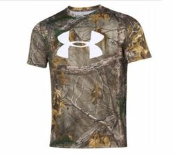 Under Armour® Men's Camo Big Logo Tee Shirt SIZE MD MSRP $3