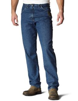 Riggs Workwear By Wrangler Men's Relaxed Fit Jean,Antique In