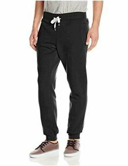 Southpole Men's Active Basic Jogger Fleece Pants, New Navy,