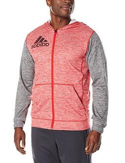 adidas Performance Men's Team Issue Full-Zip Hoodie, X-Large