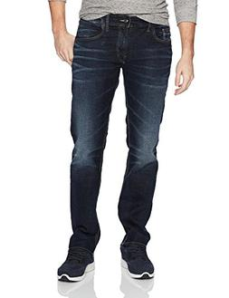 Silver Jeans Men's Allan Slim Leg Jeans, Dark Wash, 38x34