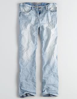 American Eagle Men's Loose Jeans - Light Wash - 38x34 - NWT